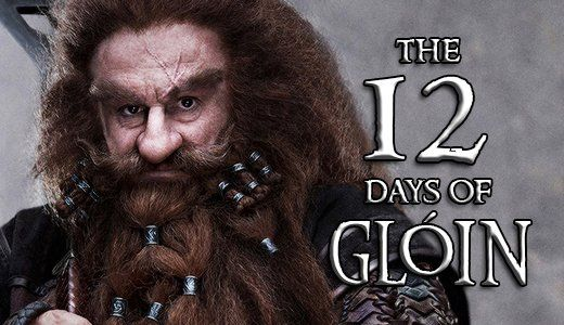 "What makes Gloin the ""quintessential Dwarf?"" Find out from Peter Hambleton in Day 4 of ""The 12 Days of Gloin!"""