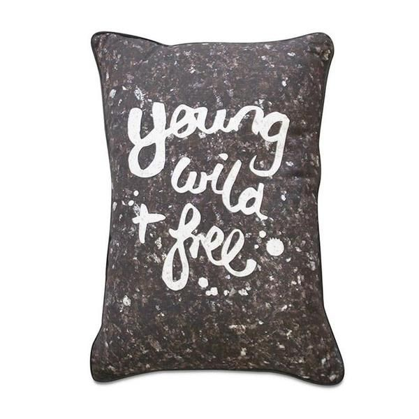 Me & My Trend Young Wild Free Granite Cushion | Koop.co.nz
