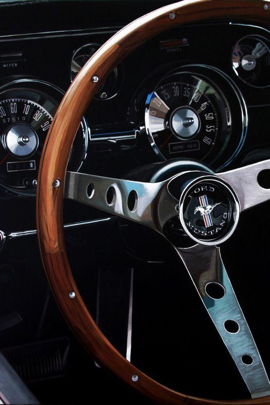 Mustang Interior                                                                                                                                                     Plus