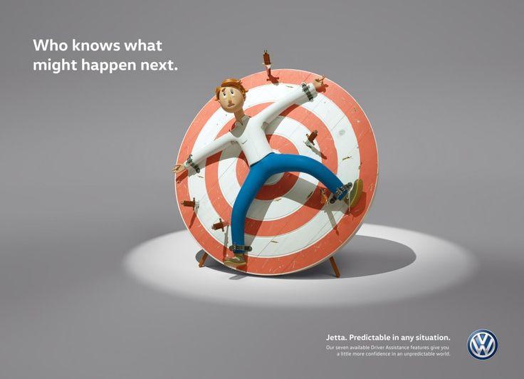 Volkswagen G-SHOCK Goodwill migliori annunci stampa