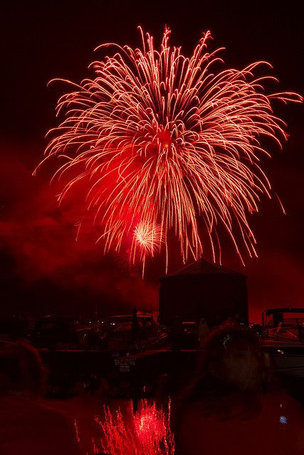 Canada Day fireworks!  #SummerSecretsContest.