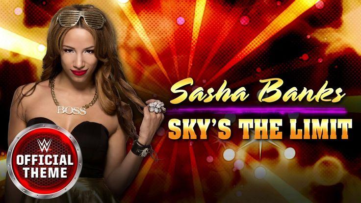 Sasha Banks - Sky's the Limit (Official Theme)