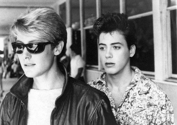 James Spader and Robert Downey Jr.