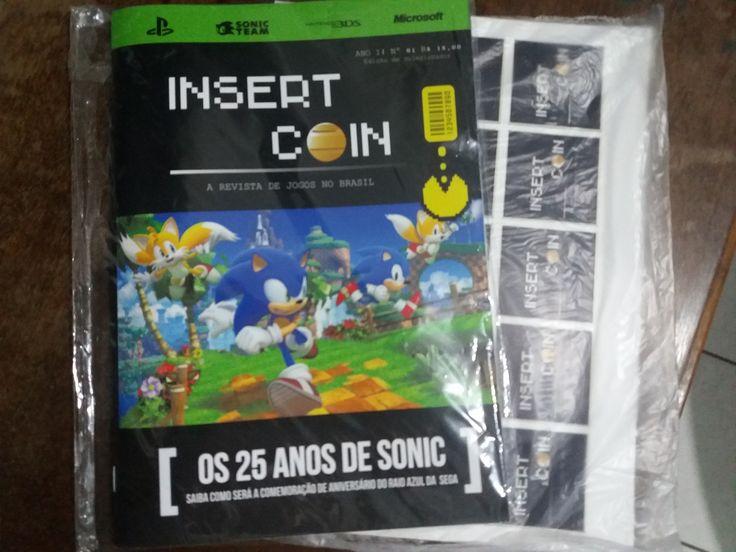 Revista Insert Coin Impressa