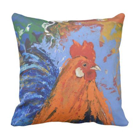 Rooster pillow #cushion #rooster #homedecor #farmhousestyle