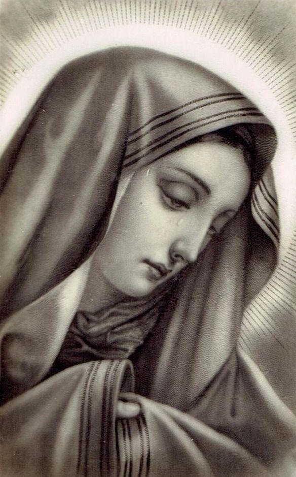 изменить картинки плачущая богородица ангел очень