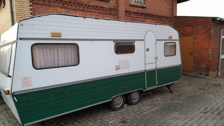 Wohnwagen Typ Bürstner 550 mit Brief -Oldtimer-