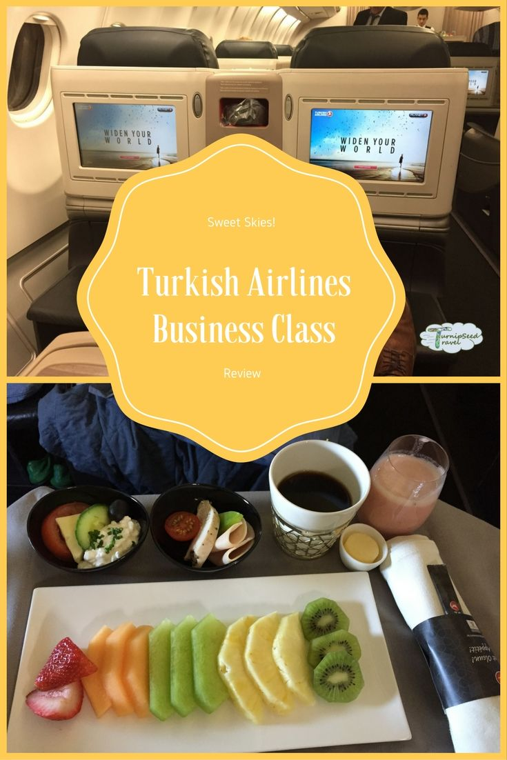 Gourmet smoothies, flat beds, wonderful service - this is an insider's look at business class on Turkish Airlines.