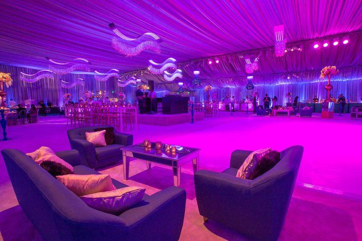 San Francisco Symphony Opening Night Gala 2015 - Lighting Design by Got Light, Event Design by Blueprint Studios. Fuchsia Pink Purple Event Lighting Inspiration.