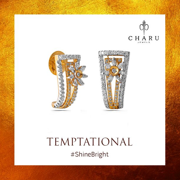 Be in the sensational talks by adorning this tempting piece #Temptational #CharuJewels #Jewels #Jewelry