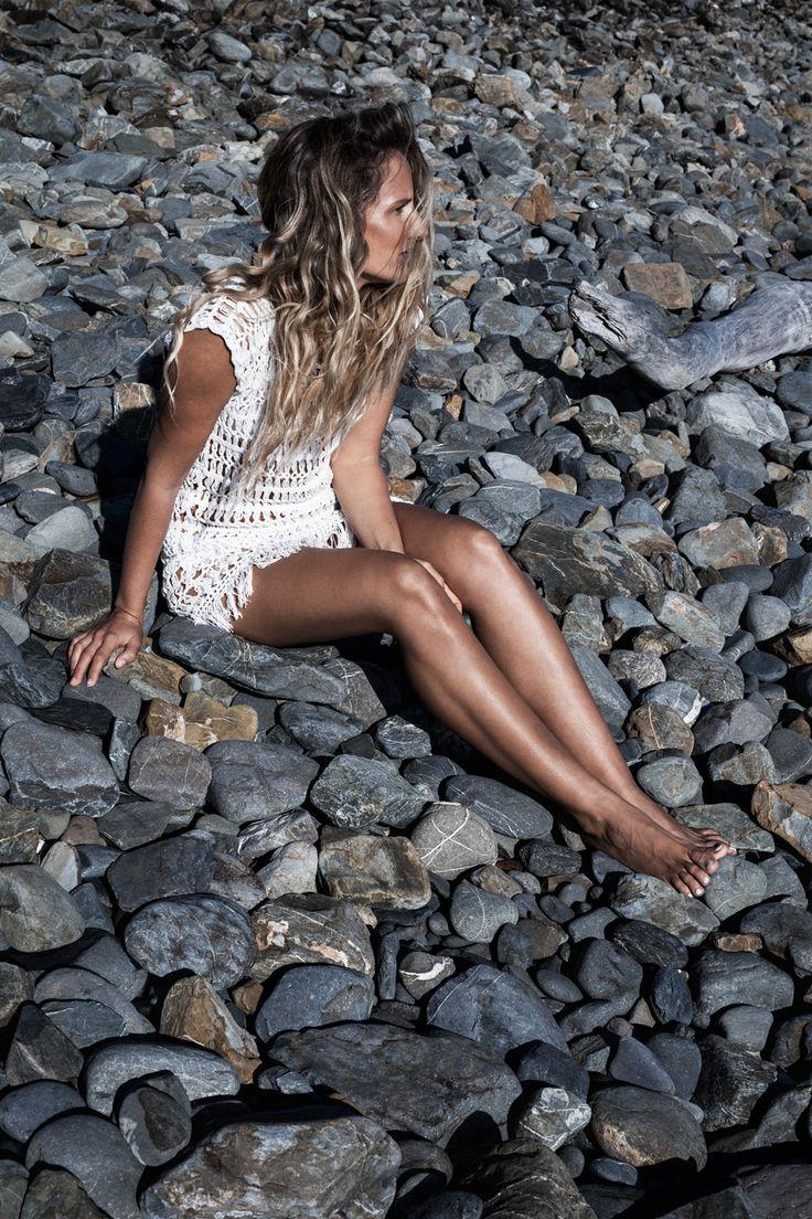 @maplevice x Amilita | Crochet Dress | White | Bohemian | Byron Bay