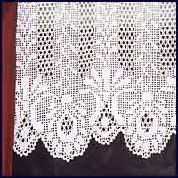 images of free filet crochet curtains | FREE CROCHETED CURTAIN PATTERNS | Easy Crochet Patterns
