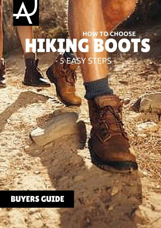 how to choose hiking boots