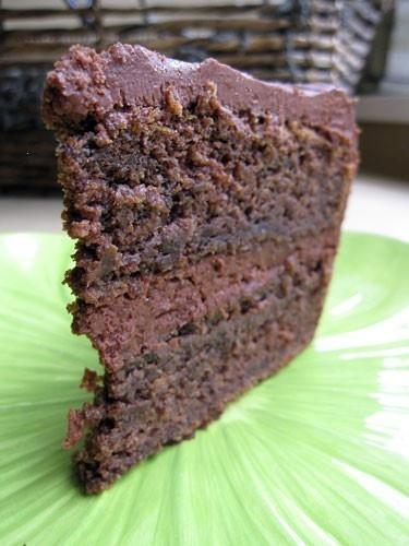 Beet chocolate cake -- made this yummy