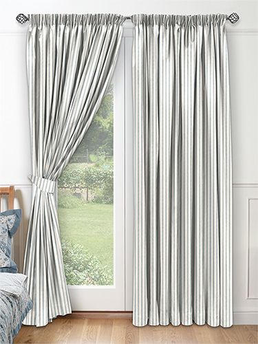Georgetown Harbour Blue Curtains from Curtains 2go