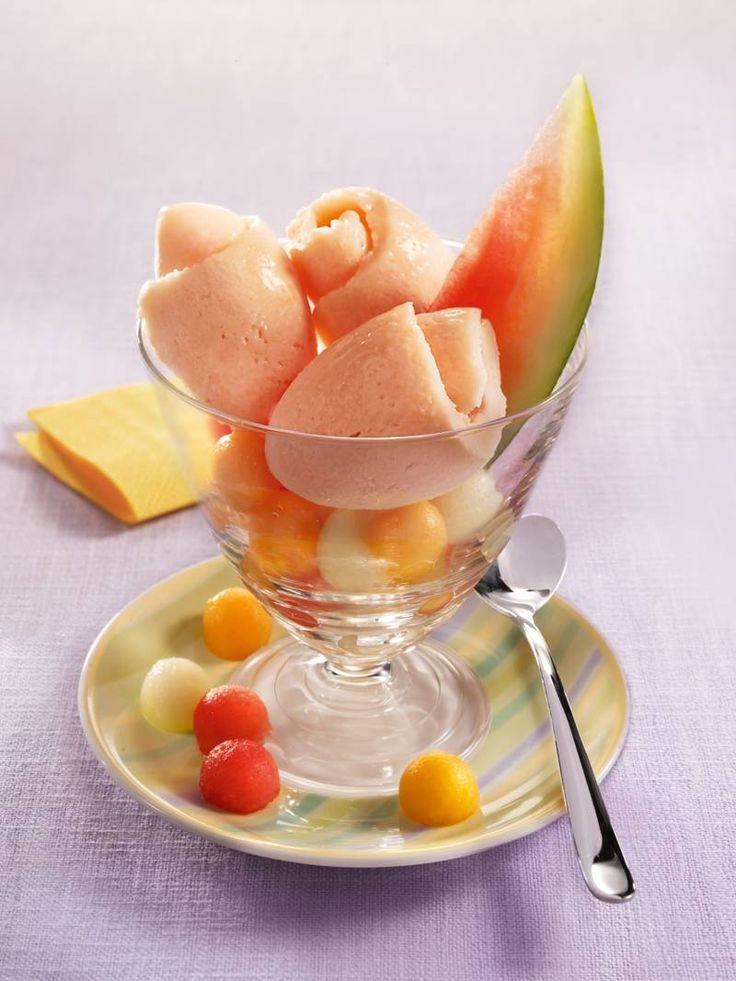Melonenmix-Eis