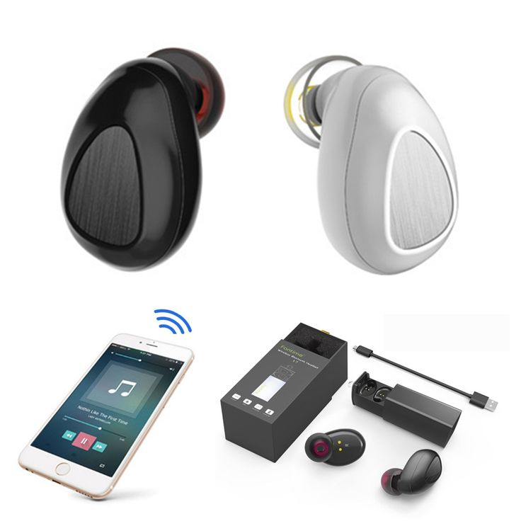 [True Wireless] TWS Mini Bluetooth Headphone Stereo Music Sports Earphone Earbuds with Mic  Worldwide delivery. Original best quality product for 70% of it's real price. Hurry up, buying it is extra profitable, because we have good production sources. 1 day products dispatch from...