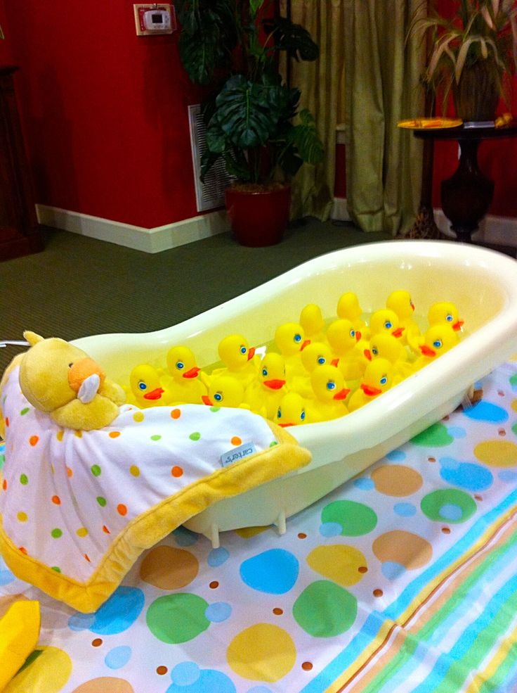 "Game: Duck Bobbing  | ""Waddle It Be"" Duckling Baby Shower"
