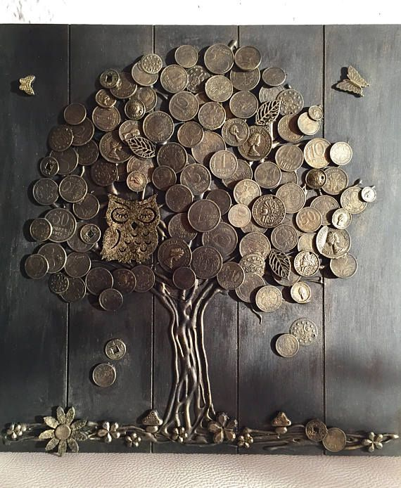 Lucky Charm -Money Tree (HANDMADE)