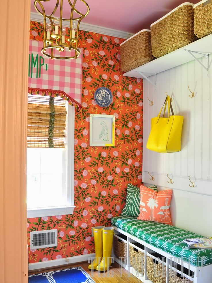 the pink clutch: One Room Challenge #laundryroom