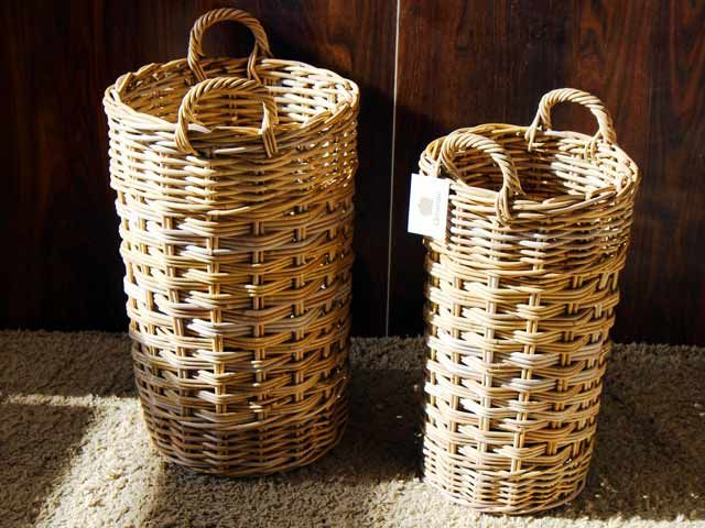 Kinnoch Umbrella Stand Basket  #umbrella #wicker #basket