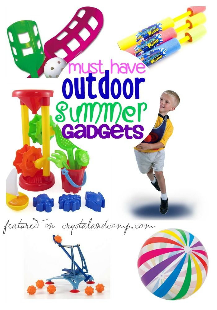 Summer Must Haves: 25 Must Have Outdoor Summer Gadgets For Kids