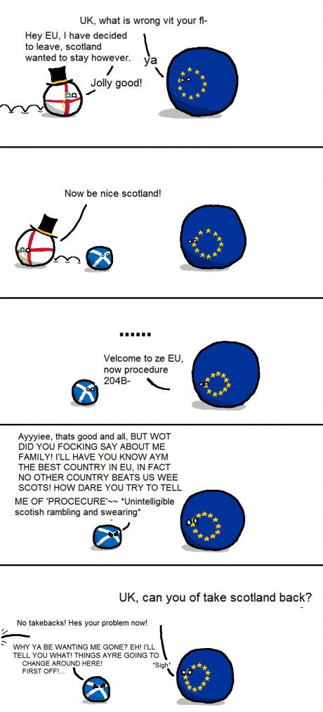 Britain leaves the EU.