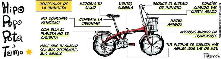 Beneficios de la bicicleta Viñeta: Ramón - 31 MAR 2013 | Opinión | EL PAÍS