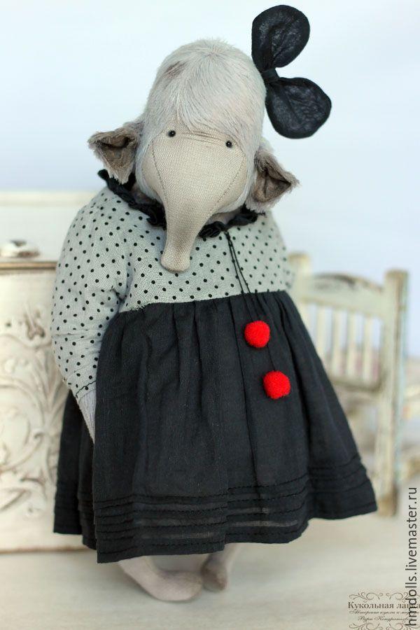 Купить Карменсита - тедди, друзья тедди, мишка тедди, teddy, слон, слоник, ретро