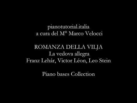 ROMANZA DELLA VILJA - Backing track - La vedova allegra - Franz Lehár - ...