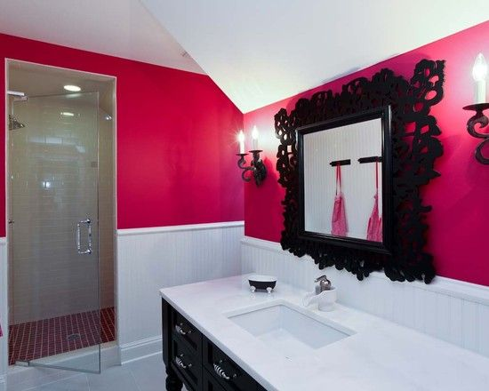 17 best ideas about teenage girl bathrooms on pinterest for Bathroom designs for teenage girls