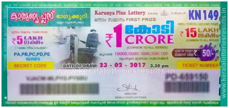LIVE: Kerala Lottery 22/02/2017 : AKSHAYA_AK-281 Lottery Result today kerala lottery results