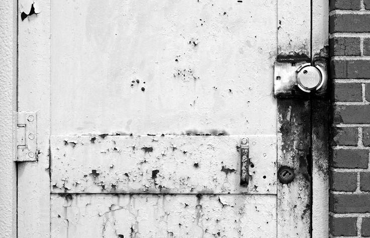 Lorton Prison door