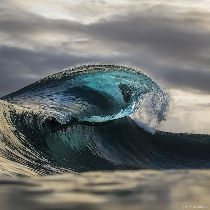 Photographer Spends Hours in Open Waters to Capture Exquisite Moments of Glass-Like Waves - My Modern Met