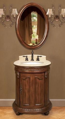 Belle Foret Model Petite Single Basin Vanity   Bathroom Vanities And Sink  Consoles