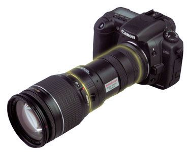 AstroScope: Night Vision For Your Nikon or Canon DSLR