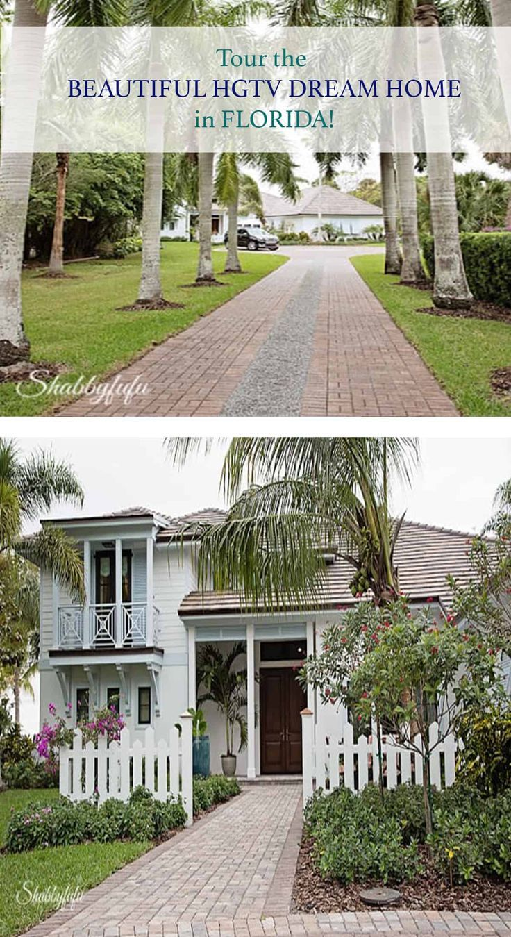 Take A Private Tour Of The Hgtv Dream Home In Florida Designed By Brian Patrick Flynn Beautiful Modern Tropical Decor