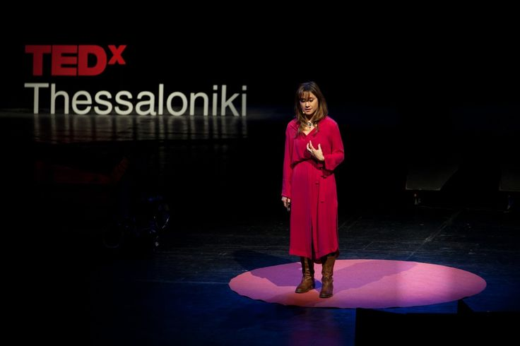 Use what you love to make a difference: Myrto Papadopoulos at TEDxThessaloniki