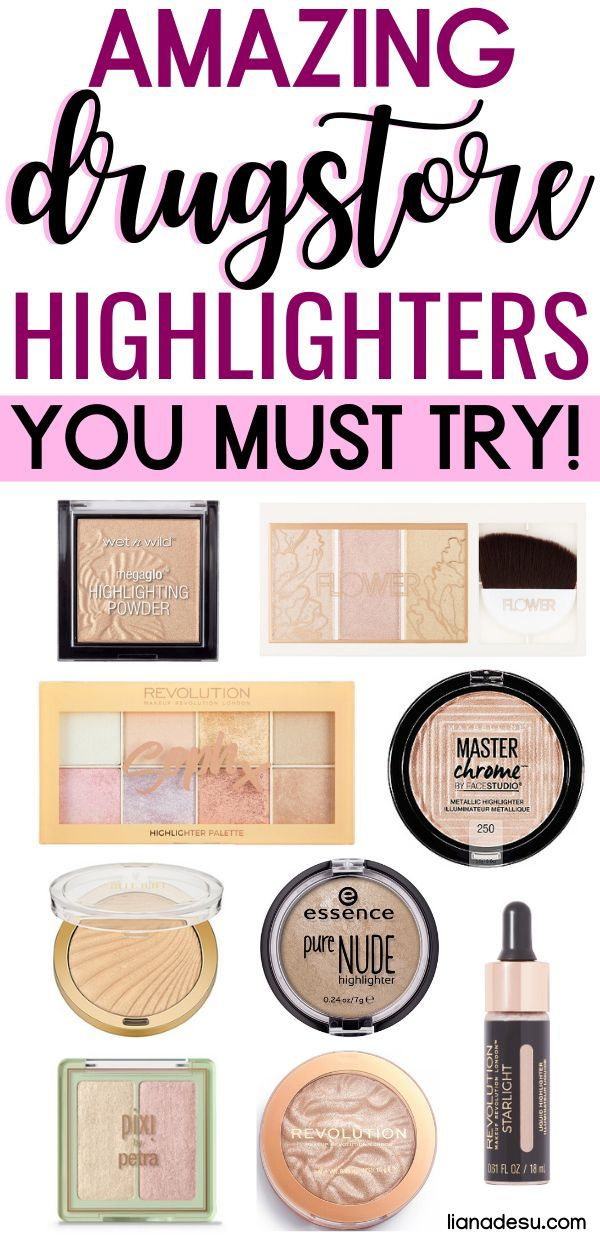Best Drugstore Highlighters You Must Try Liana Desu Drugstore Highlighter Best Drugstore Makeup Drugstore Makeup Brands