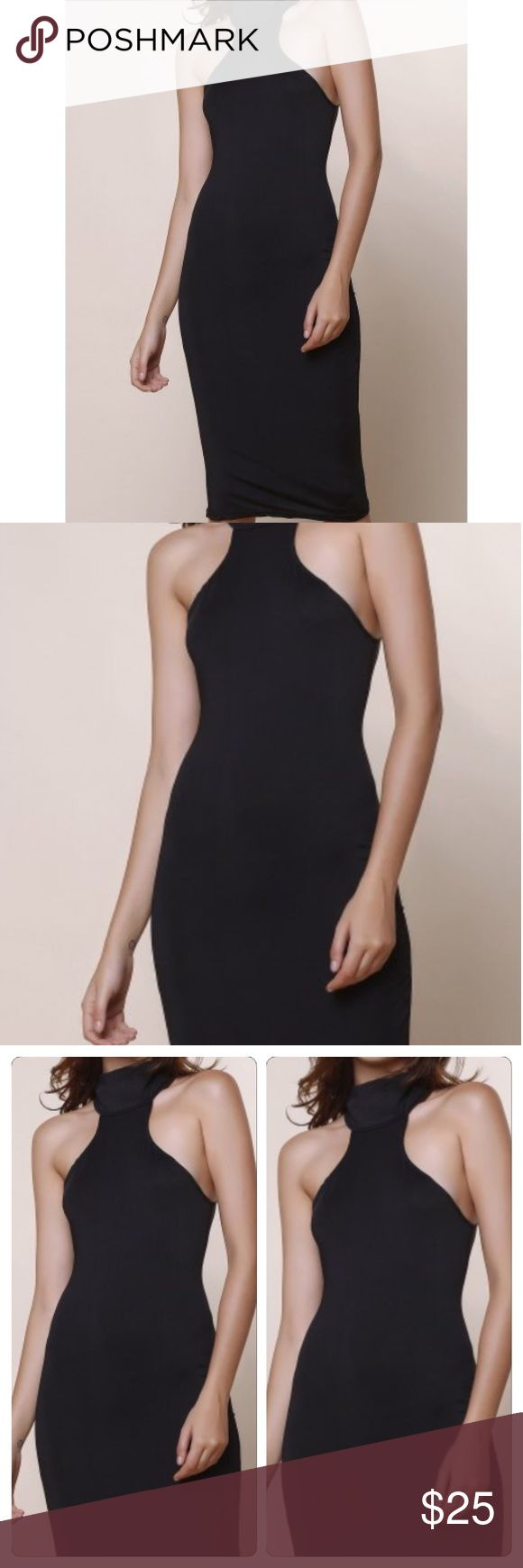 BOGO🔴 Sexy Black Bodycon Dress as worn by Mrs. West herself. Sizes run approximately one size small. XL = Large ✅ Please see size chart. I am not able to give opinions on if items will fit. Please use the chart along with your body type for best approximations ✅ OSMF= Small/Medium. This is not from the Kardashian clothing line ✅ Dresses Midi