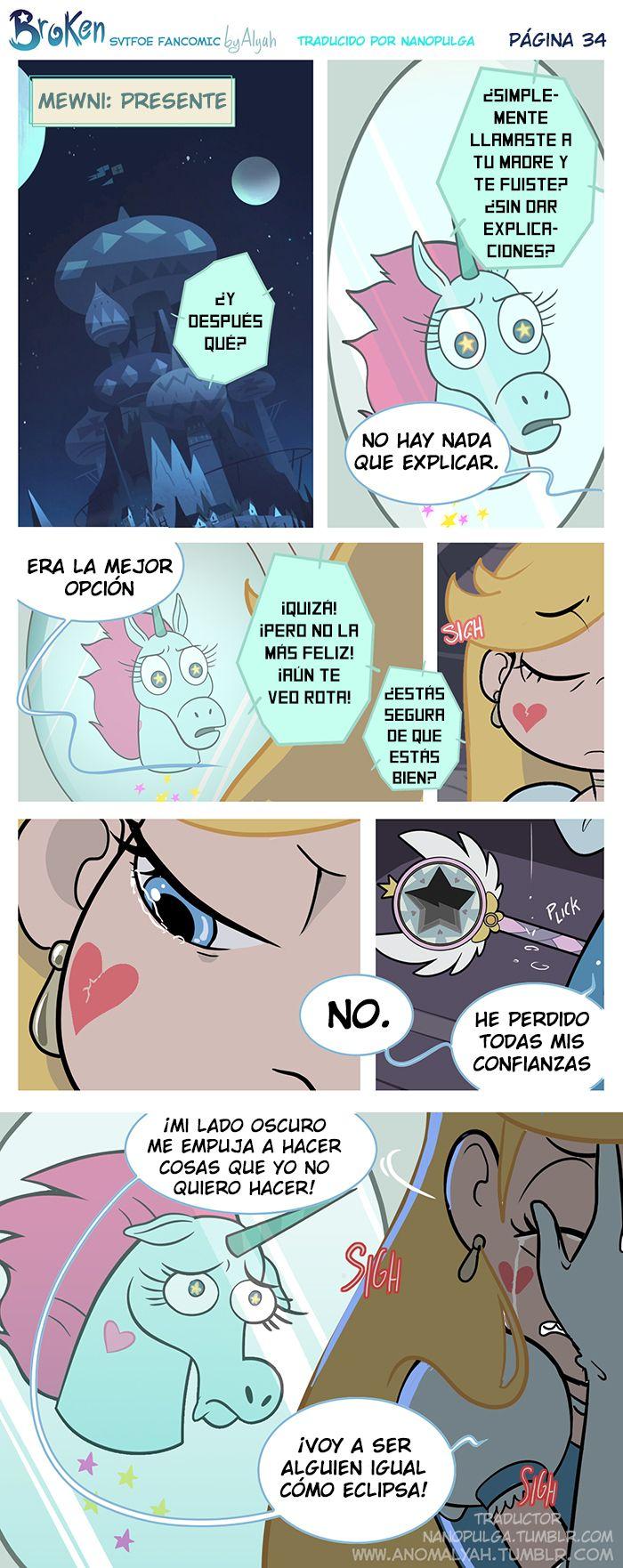 """[Portada] [Anterior página] [Siguiente página] Cabeza Pony se había sorprendido por lo que le había contado su amiga. """"¿Y después qué? ¿Simplemente llamaste a tu madre y te fuiste sin dar..."""