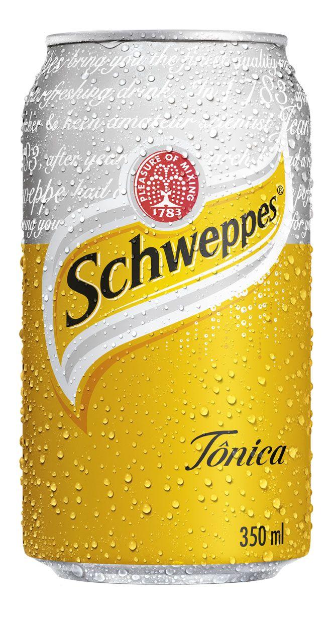 Schweppes - tónica e fresca !