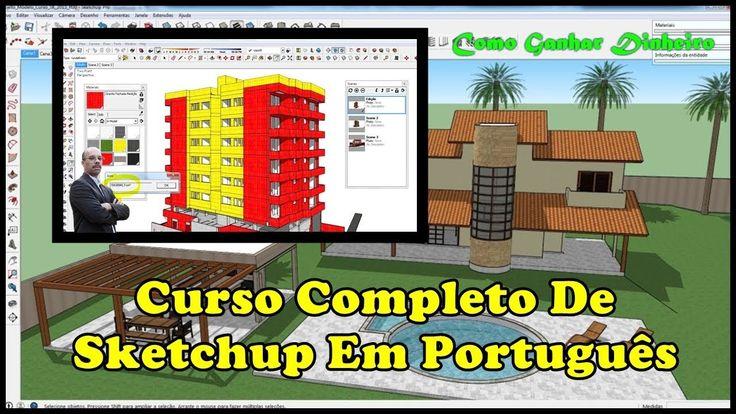 CURSO DE SKETCHUP, Aula 01 Como Mover E Distorcer Objetos Em 3D Com Ferr...