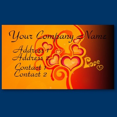 Hearts of Love Business Card