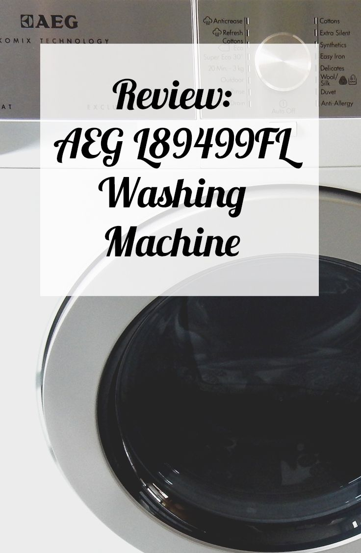 Review: AEG L89499FL Washing Machine   Suburban Mum Blog
