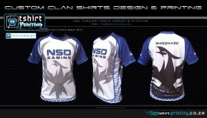 NSD 2014 gamer tshirt printed and full 3D view front / side / back of custom gamer shirt printed. By http://tshirtprinting.co.za  http://2cooldesign.co.za  http://tbiz.co.za
