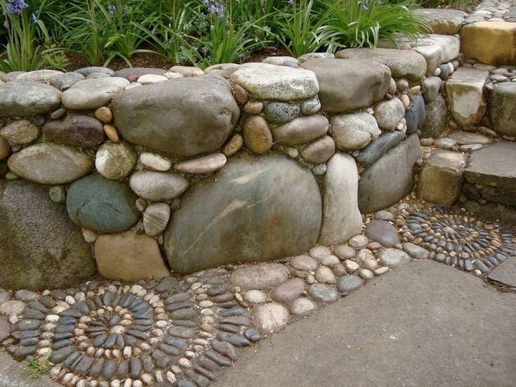 84 besten Mauern/steinwände Bilder auf Pinterest | Gartenmauern ...