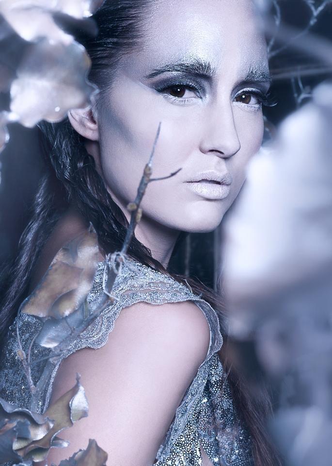 Photographer: Jane Thompson   Model: Jade Nightingale  Hair/Mua: Nikki Harrisonford Set  Styling: Lili Hammond Dress  Designer: Arlene D'Monte #zipettmagazine