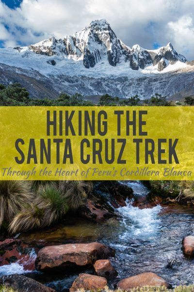 The Santa Cruz Trek is among the most spectacular and amazing hikes I've ever done. Big white mountains, high passes, lush scenery, and gurgling streams. It was through a landscape that seemed unreal even as I walked through it. If you love hiking, you better have this place on your list...