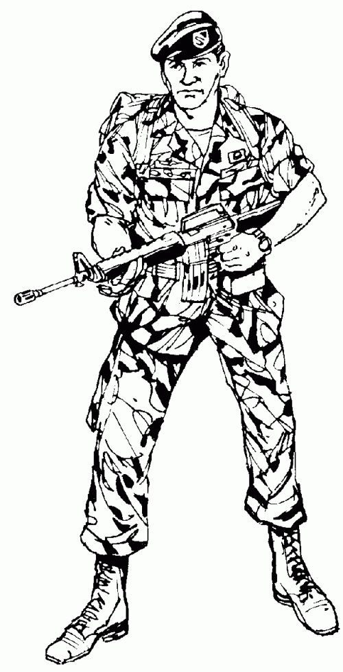 18 best military coloring images on Pinterest | Coloring sheets ...